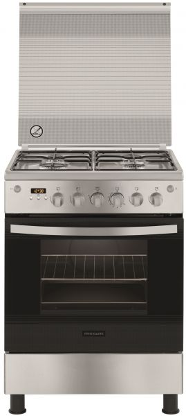 buy frigidaire free standing gas cooker silver fngc90jgrso in uae