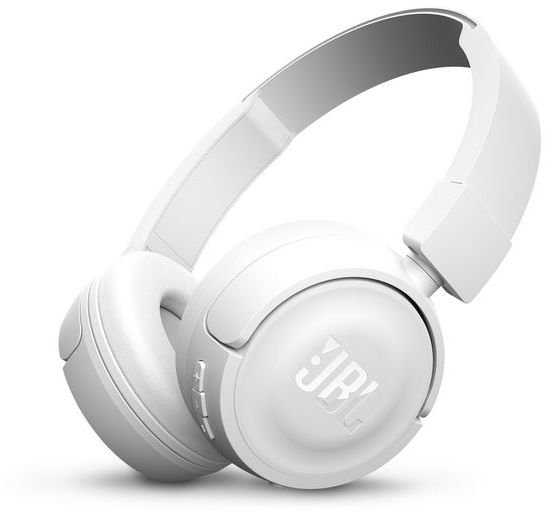 JBL On-Ear Bluetooth Headphones, White - T450BT