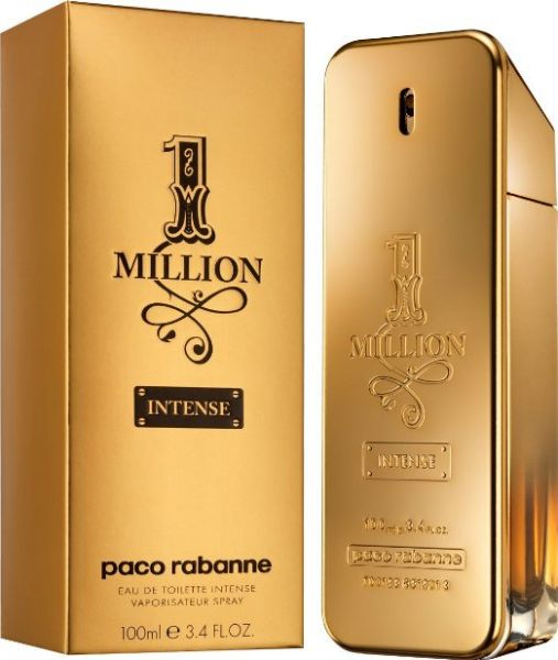 Paco Rabanne 1 Million Intense For Men 100 Ml Eau De Toilette