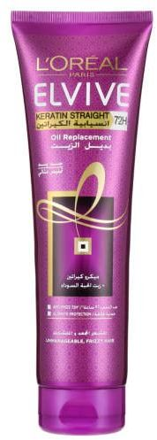 L'Oreal Elvive Oil Replacement Keratin Smooth Straight (300ml)