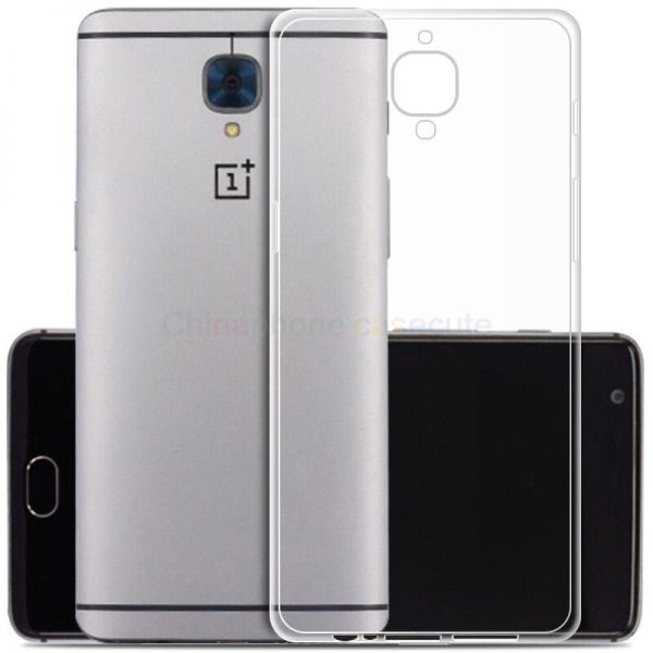 Oneplus 3T Transparent back cover and Screen Protector