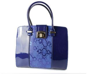 23ae47702385 David Jones Sleek   Shine Edition Handbag - Blue