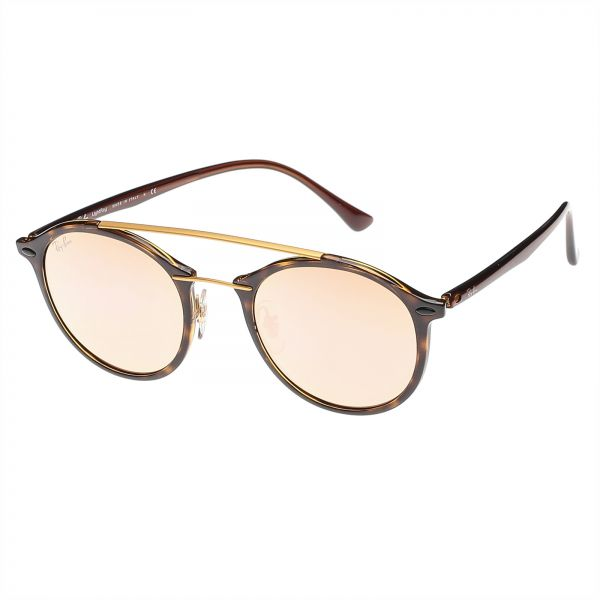 2b2e9f40bbf Ray-Ban Round Double Bridge Light Ray Unisex Sunglasses - RB4266-710 ...