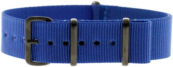 Momentum 22mm PVD Buckle Nato Strap Royal Blue. by Momentum c45c407c872c