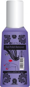 Luna Nail Polish Remover With Blueberry Essence, 100 ml