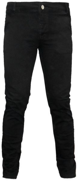 Blueberry Black Slim Fit Trousers Pant For Men