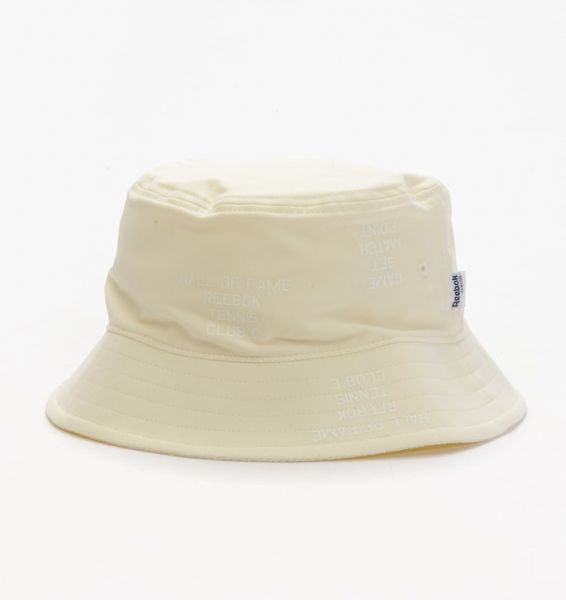 29af90ac8f1 Reebok Off White Mixed Materials Bucket Hat For Men