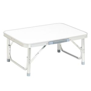 d3134903c231 Aluminum Picnic Adjustable Height Folding Table for Indoor   Outdoor  60x45x58cm