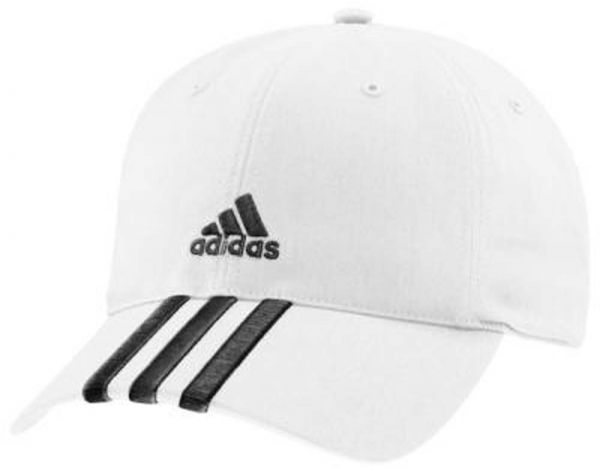 1415df2e02af Adidas White Mixed Materials Baseball Hat For Unisex