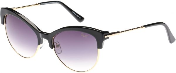 f120213fa8984 Versace 19.69 Cat Eye Women s Sunglasses - VW1536S C1 - 54-18-135 ...