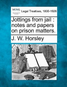 souq jottings from jail notes and papers on prison matters by