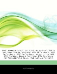 Articles on West Ham United F.C. Matches 4a3c254a9