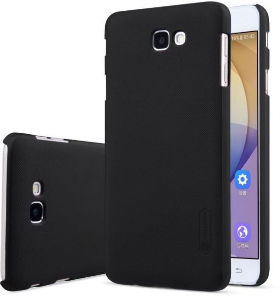 super popular 7adf3 a9a2f NILLKIN FROSTED BACK COVER FOR SAMSUNG GALAXY J5 PRIME SCREEN PROTECTOR  INCLUDED BLACK