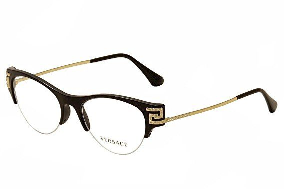 Versace Eyewear Frame for Women , Clear Lens , VE3226B-GB1-51 ...