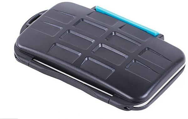 Water Proof Plastic CF / SD Memory Card Case
