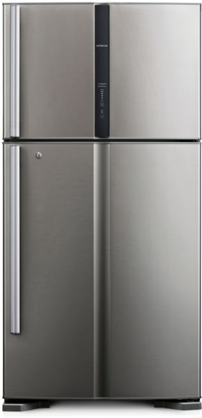 buy hitachi 510 liters double door silver rv650ps3kx inx in saudi