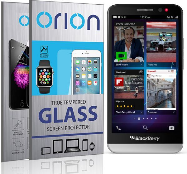 Orion Tempered Glass Screen Protector For BlackBerry Z3.