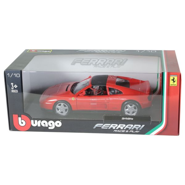 Burago Ferrari 1:18 Race And Play Diecast Vehicle With Stand Die Casts -  NB910990