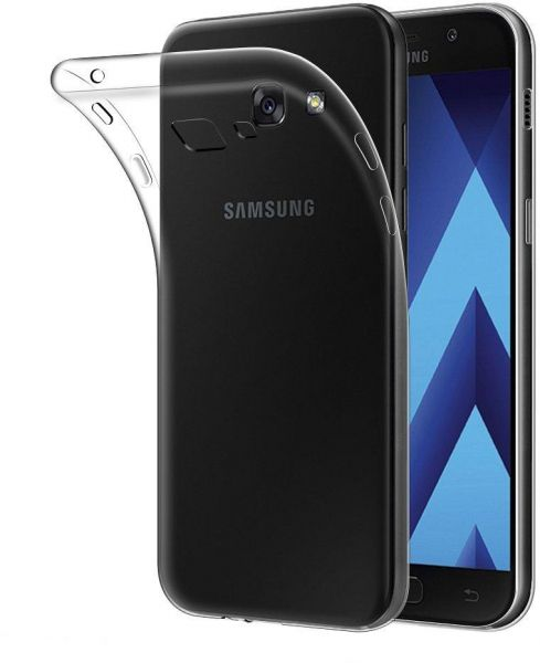 hot sale online 2d382 c45b5 Silicone Back Case Cover By Ineix For Samsung Galaxy A5 - CLEAR