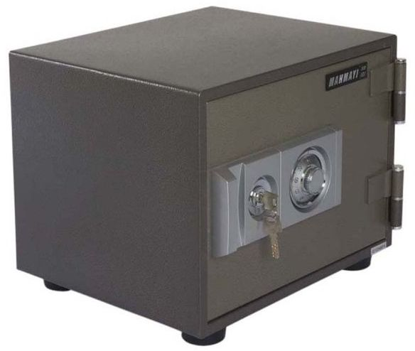 Mahmayi Secure Sd101 Fire Safe With Dial And Key 30Kgs