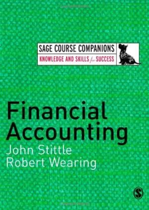 Financial Accounting, by John Stittle
