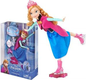 Dolls & Bears Mattel Disney Frozen Ice Skating Anna Doll Dolls