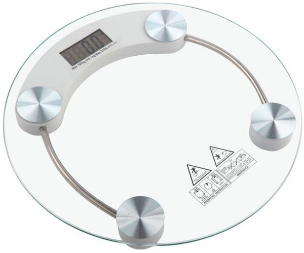 Digital Bathroom Scale 180kg Max Weight