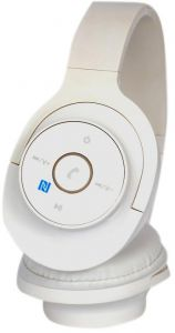 bcd95d62e1d S100 on Ear Bluetooth Headset Wireless Noise Cancelling Headphone JBL Beats  Sony Design White