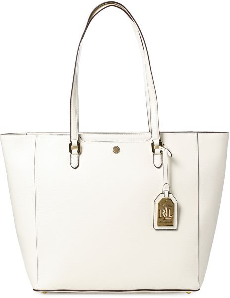 31d61a3aad Lauren By Ralph Lauren 431624307014 Nbury Halee Tote Bag for Women - Vanilla