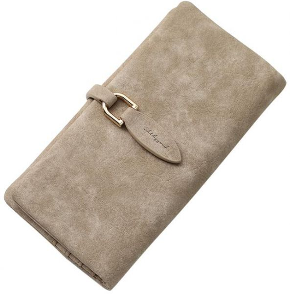 mostyle Coffee Leather For Women - Bifold Wallets