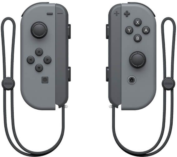 Nintendo Switch Left and Right Joy-Cons - Grey