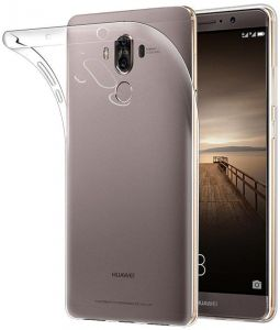 Huawei Mate 9 Case Cover , Pleson , Soft Gel TPU Skin Fit Case , Clear