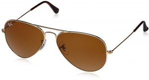 e5ba639bdfbef Ray-ban Aviator Unisex Sunglasses - Gold -RB3025-001-33 58