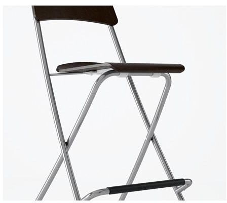Swell Bar Stool With Backrest Fordable Brown Black Silver Color Gmtry Best Dining Table And Chair Ideas Images Gmtryco