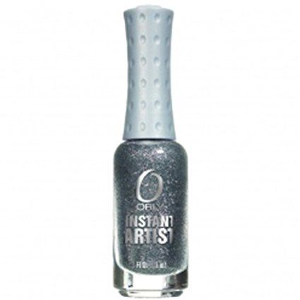 Orly Instant Artist Based Nail Lacquer, Platinum, 0.3 Fluid Ounce