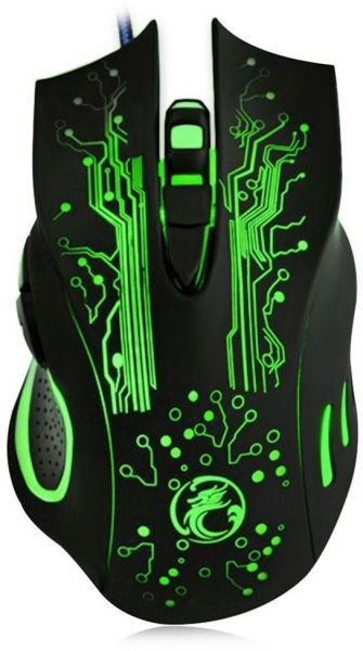 E-SALE 2400DPI Optical LED Mouse 6D USB Wired Gaming Game Mouse For PC Laptop Game Mice