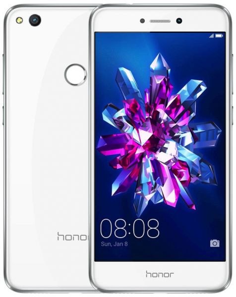Honor 8 Lite Dual Sim - 16GB, 3GB RAM, 4G LTE, White
