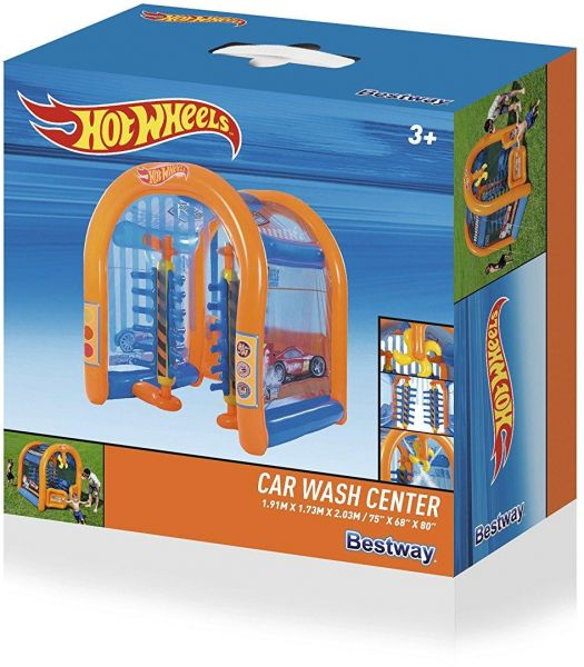 Hot Wheels Car Wash Center Toy For Kids