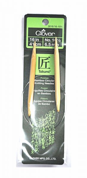 "Clover Bamboo Double Point Knitting Needles 7/"" No 3-3.25 mm"