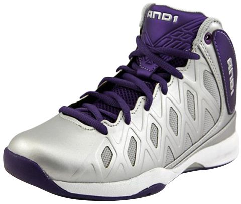AND1 Purple Basketball Shoe For Boys
