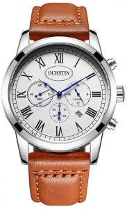 c08725920 Ochstin Watch for Men , Chronograph , Leather , GQ067B-SW