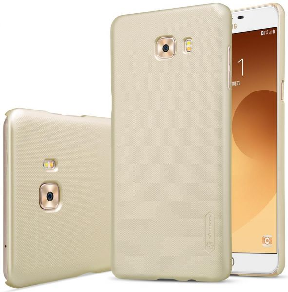 Samsung Galaxy C9 Pro Nillkin Super Frosted Shield Back Case [Gold Color]