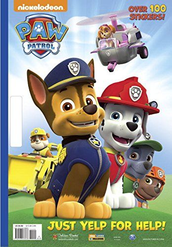 PAW Patrol Giant Coloring Book By Golden Books