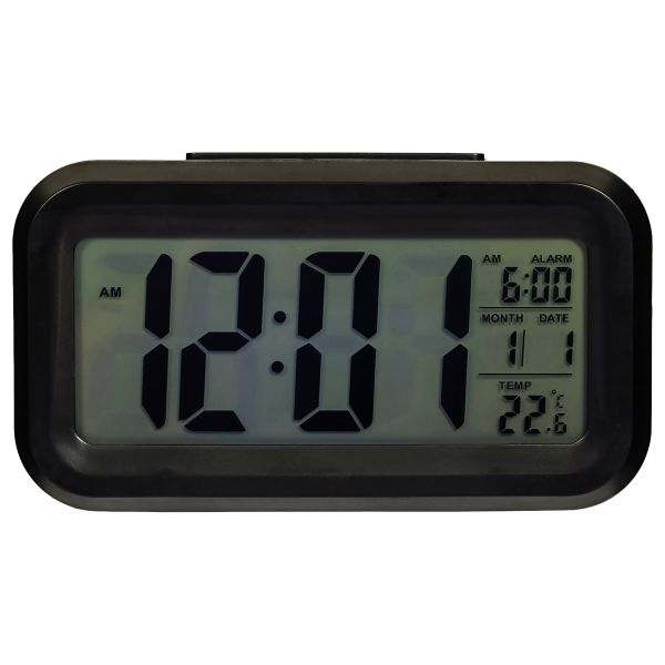 Alarm clock luminous led electronic clock large screen