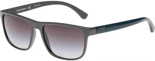1a5758fbbb0 Emporio Armani Square Men s Sunglasses - 4087-57-5559-8G - 57-17-145 mm