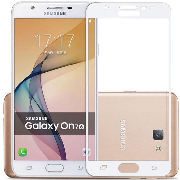 Orion Tempered Glass Screen Protector For Samsung Galaxy J7 Prime White