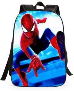 238601c3bde7 Spiderman 3D Print Backpack Cartoon Backpacks Kids Cute School Bag Children