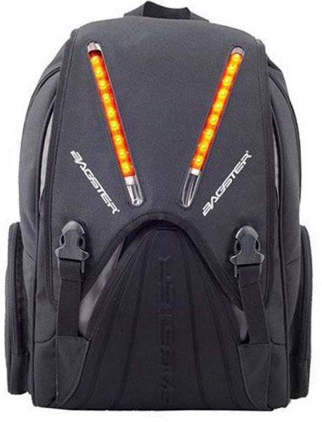 Buy Bagster Starlight Motorcycle Led Backpack- Black in Egypt 5bf040fb0c56a