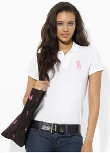 Sale on ralph lauren womens short sleeve polo shirt miami graphic t ... 57eb2f06a