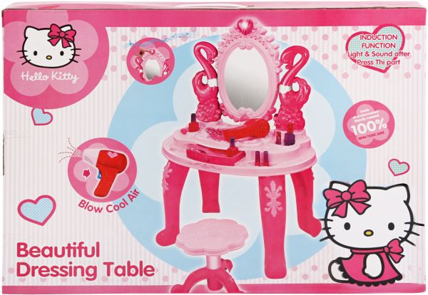 Hello Kitty Beauty Dressing Table Set For Girls  Dg 400227